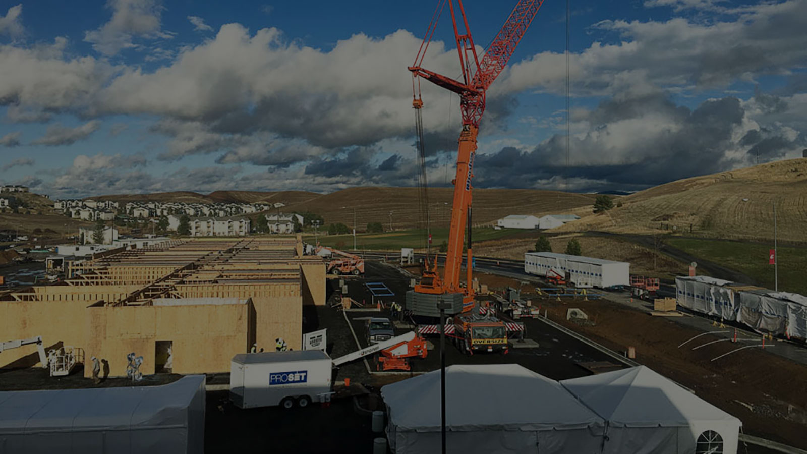 Homepage slide for ProsSet Construction - Montrose, Colorado